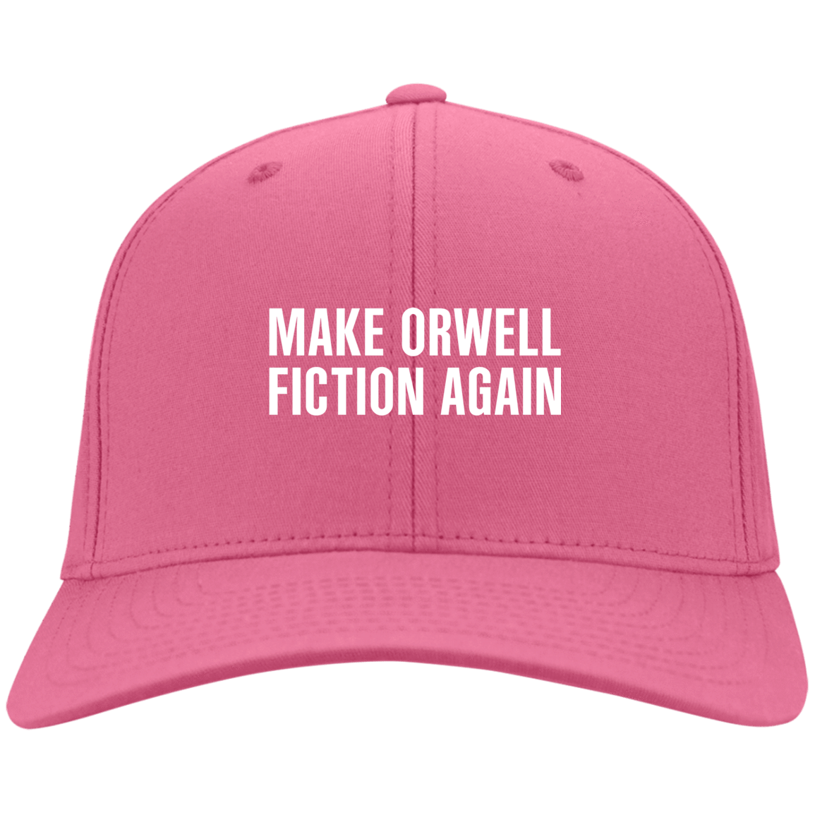 Make Orwell Fiction Again Hat 10-9381-74169573-45472 - Tee Ript