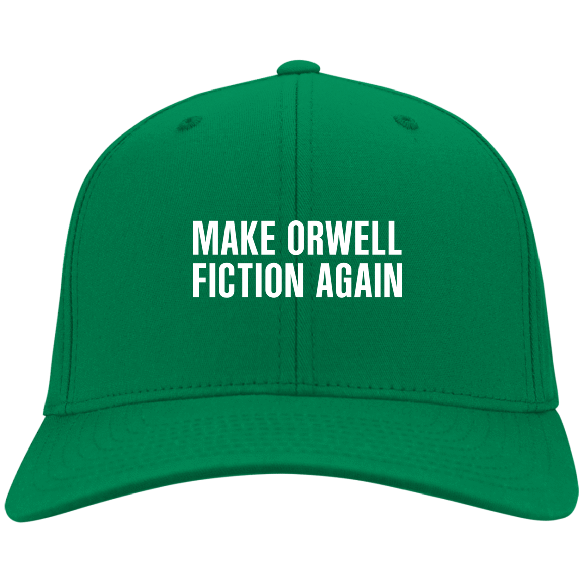 Make Orwell Fiction Again Hat 10-9384-74169573-45467 - Tee Ript