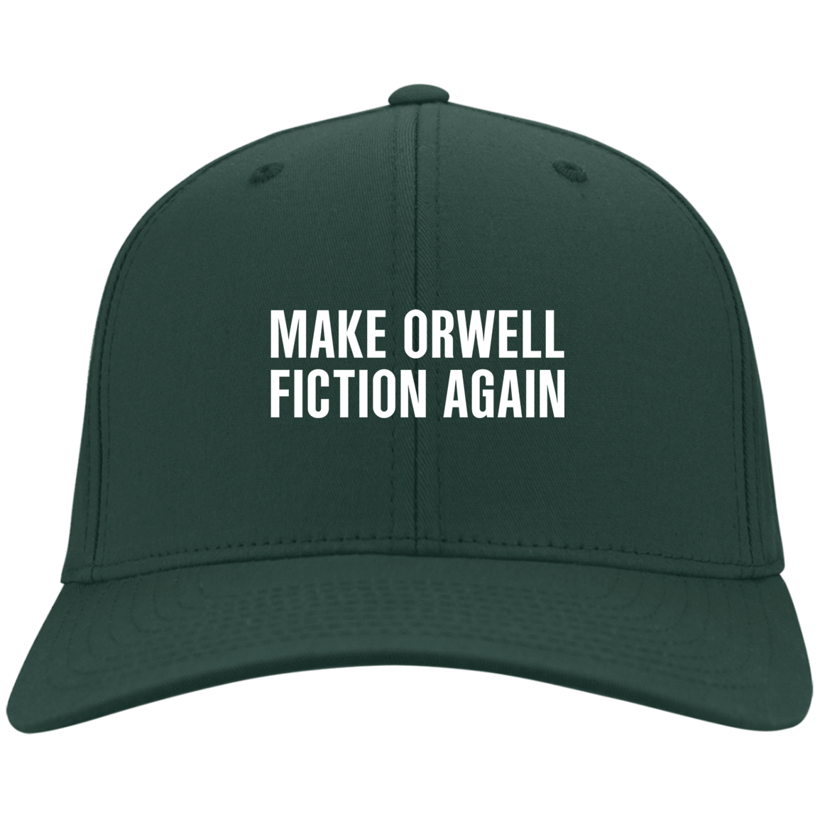 Make Orwell Fiction Again Hat 10-55-74169573-85 - Tee Ript