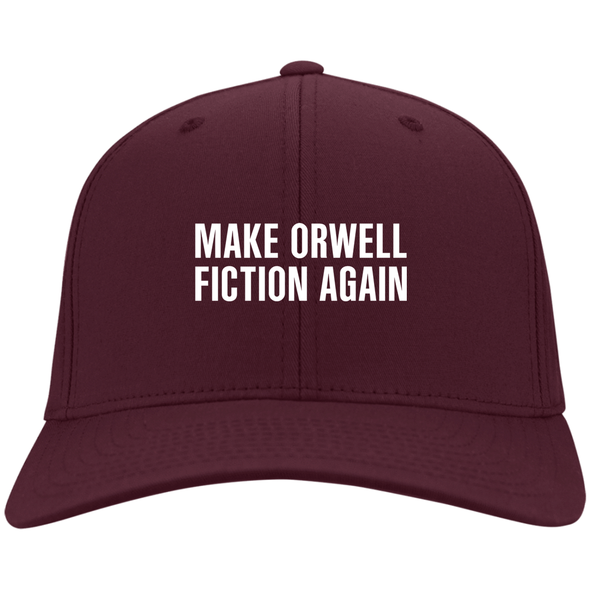 Make Orwell Fiction Again Hat 10-56-74169573-86 - Tee Ript