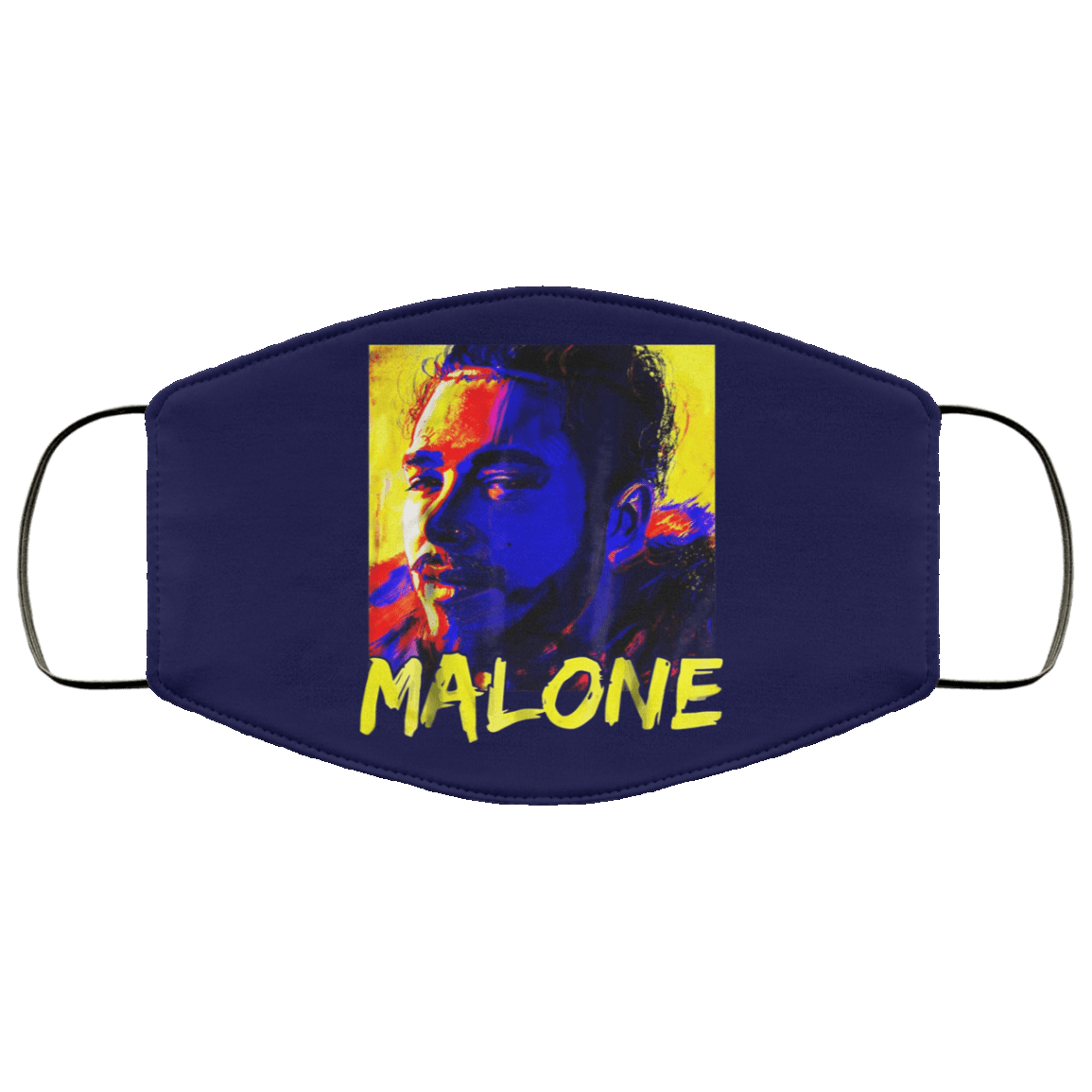 Malone Vintage Rapper Post Malone Face Mask 1274-13182-88283015-59070 - Tee Ript