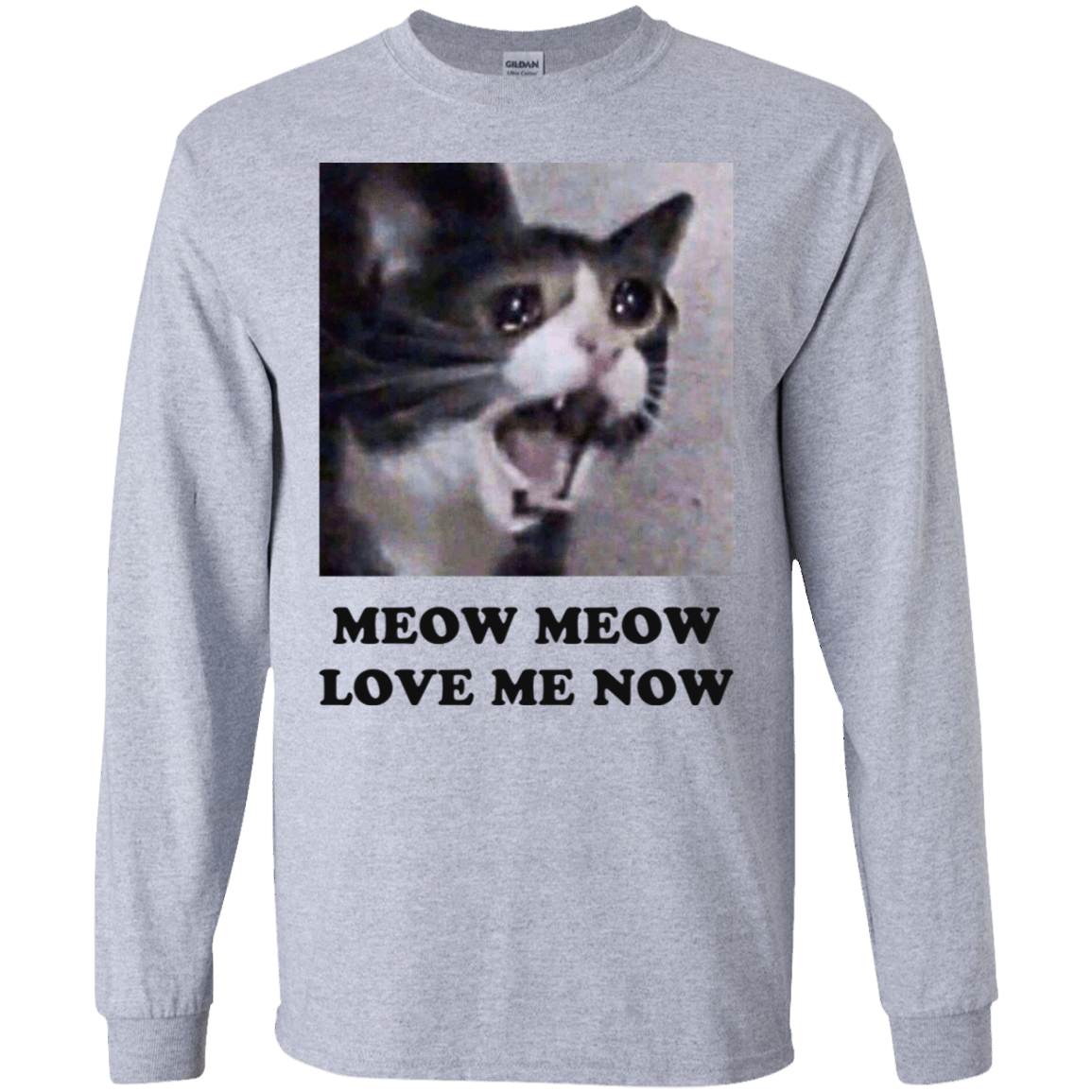 Meow Meow Love Me Now Cat Lovers T-Shirts 30-188-72089487-335 - Tee Ript