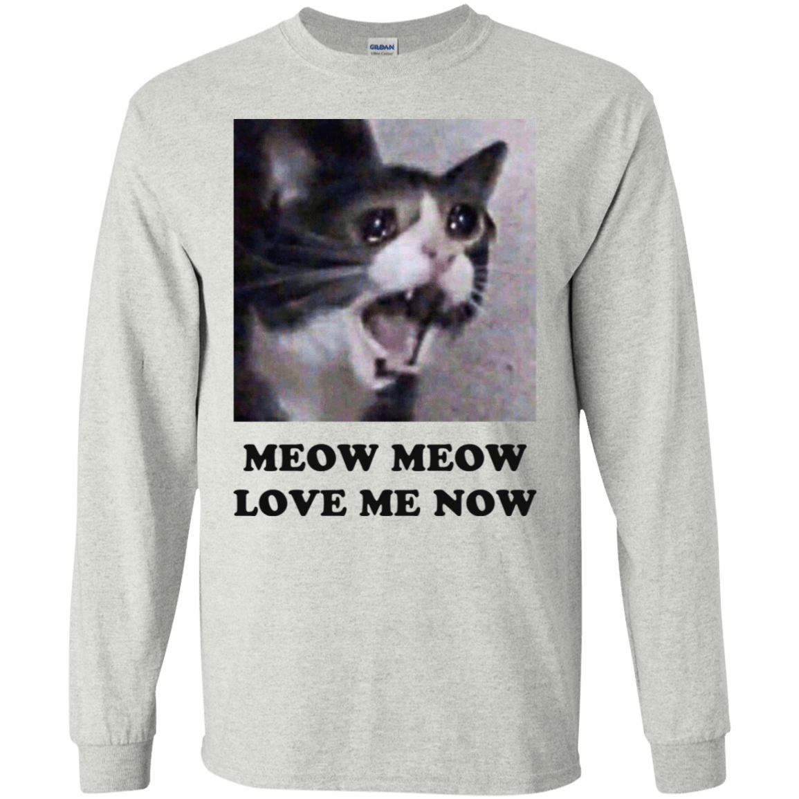 Meow Meow Love Me Now Cat Lovers T-Shirts