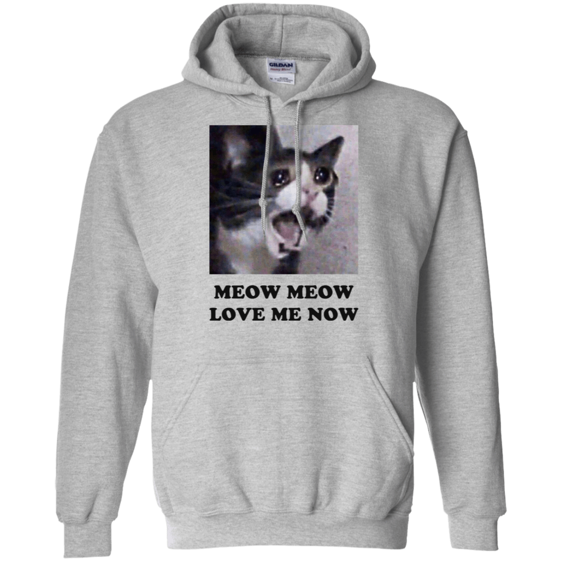 Meow Meow Love Me Now Cat Lovers T-Shirts 541-4741-72089488-23111 - Tee Ript