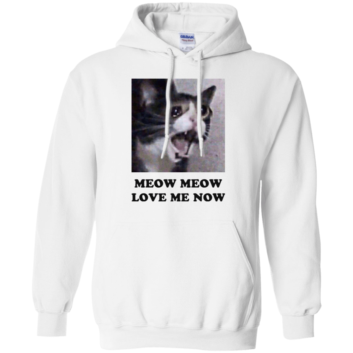 Meow Meow Love Me Now Cat Lovers T-Shirts 541-4744-72089488-23183 - Tee Ript