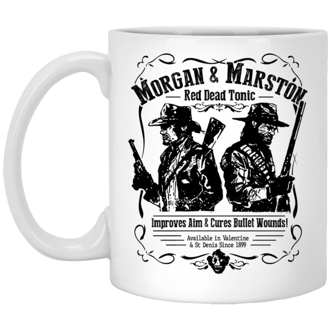 Morgan & Marston Red Dead Tonic Mug 1005-9786-91587495-47417 - Tee Ript