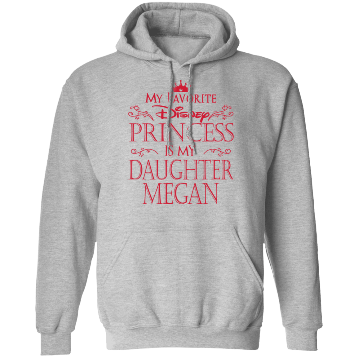My Favorite Disney Princess Is My Daughter Megan T-Shirts, Hoodies, Tank 541-4741-81647388-23111 - Tee Ript