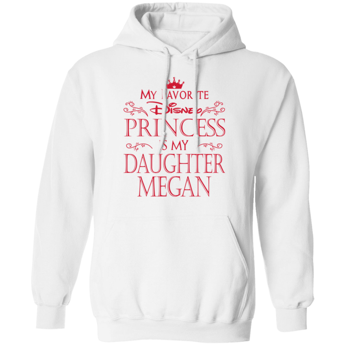 My Favorite Disney Princess Is My Daughter Megan T-Shirts, Hoodies, Tank 541-4744-81647388-23183 - Tee Ript