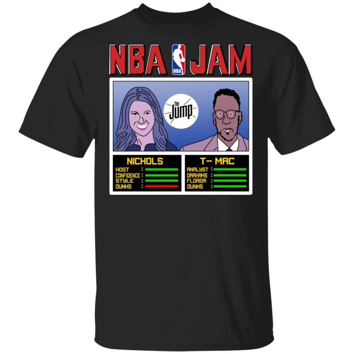 NBA Jam The Jump Nichols TMac T-Shirts, Hoodies 1049-9953-93031545-48144 - Tee Ript