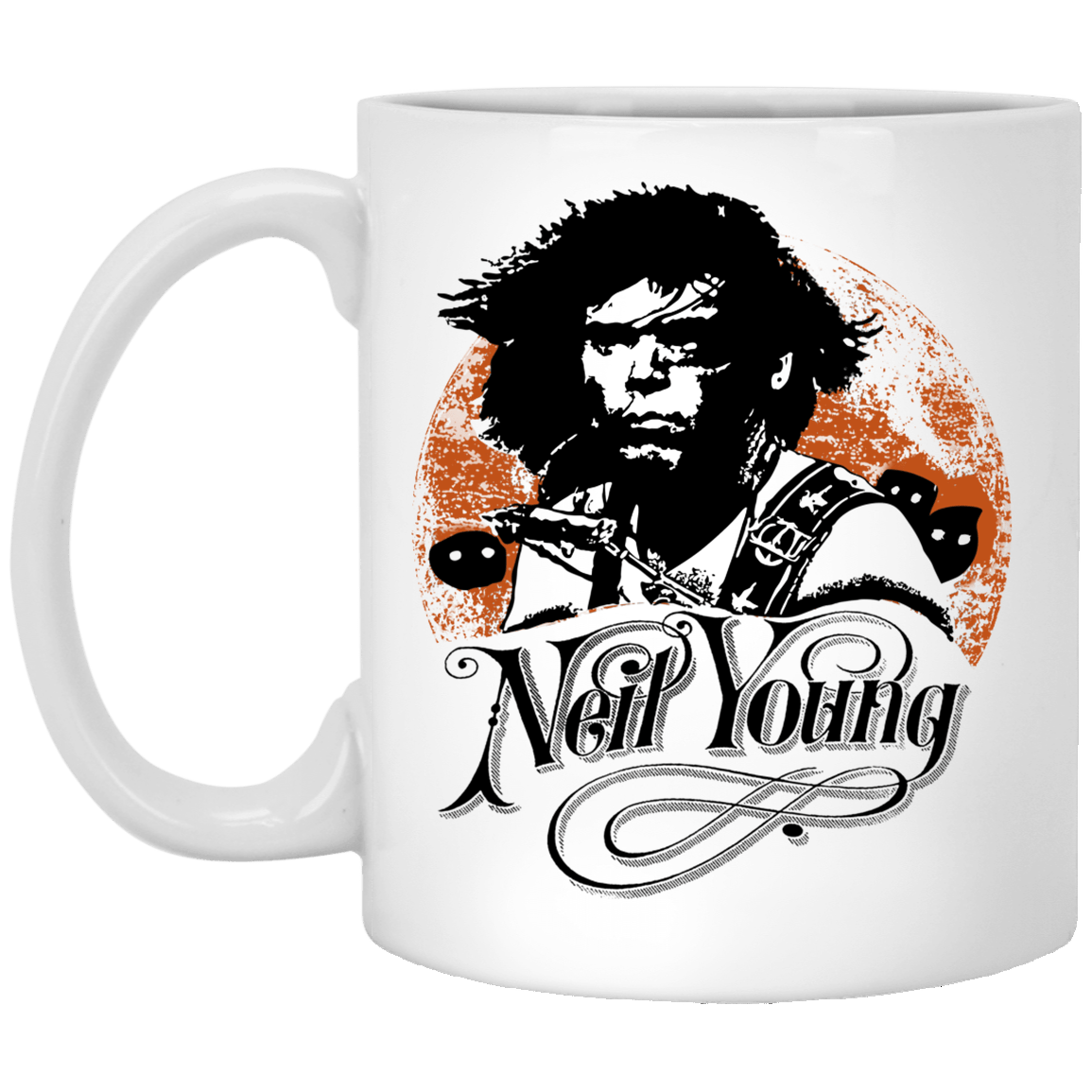 Neil Young Canadian Rocker White Mug 1005-9786-93051349-47417 - Tee Ript