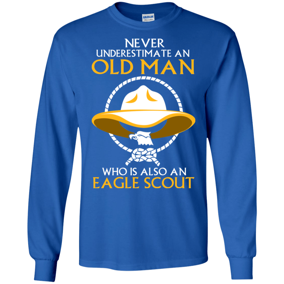 Never Underestimate An Old Man Who Is Also An Eagle Scout 30-183-72933372-330 - Tee Ript