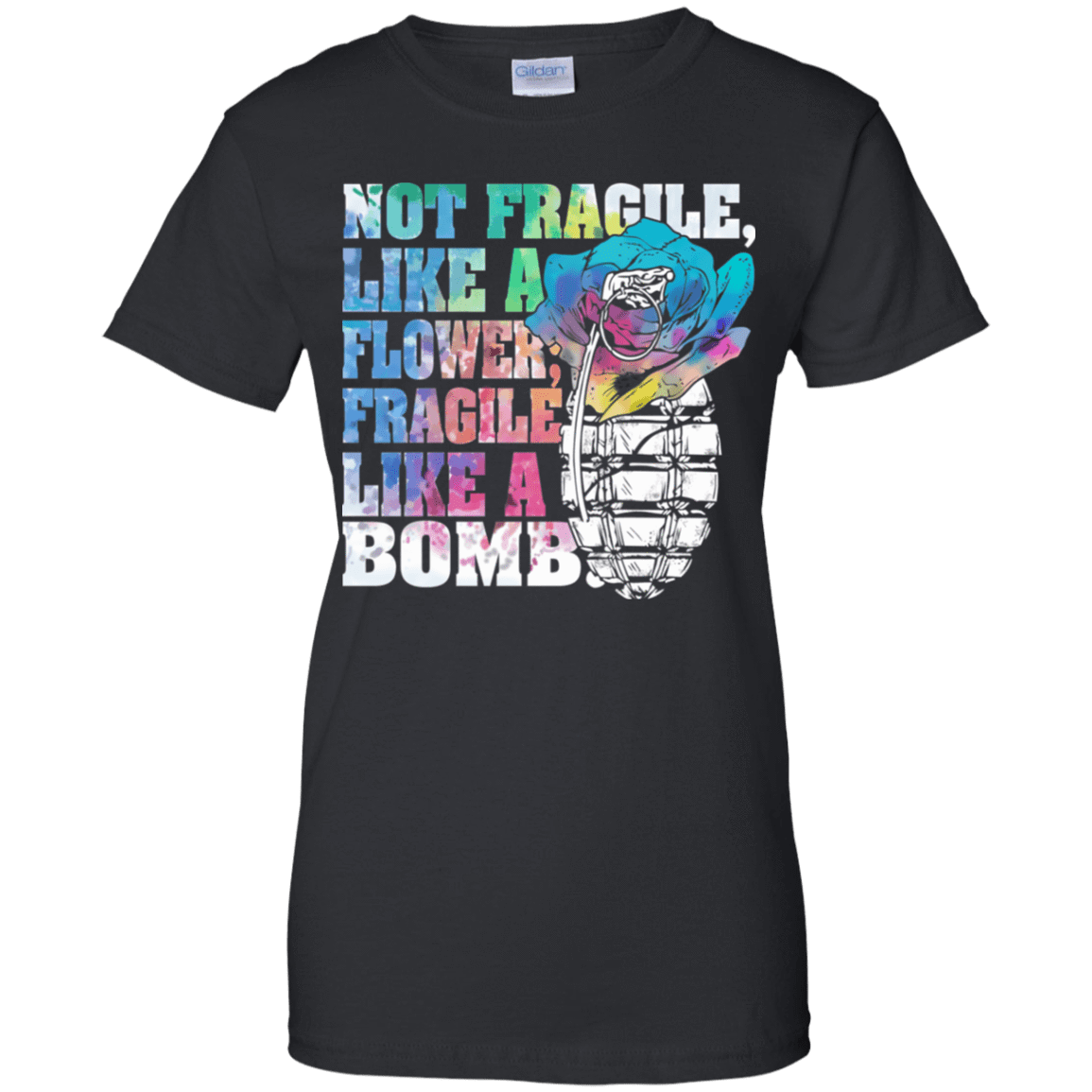 Not Fragile Like A Flower, Fragile Like A Bomb 939-9248-73170840-44695 - Tee Ript