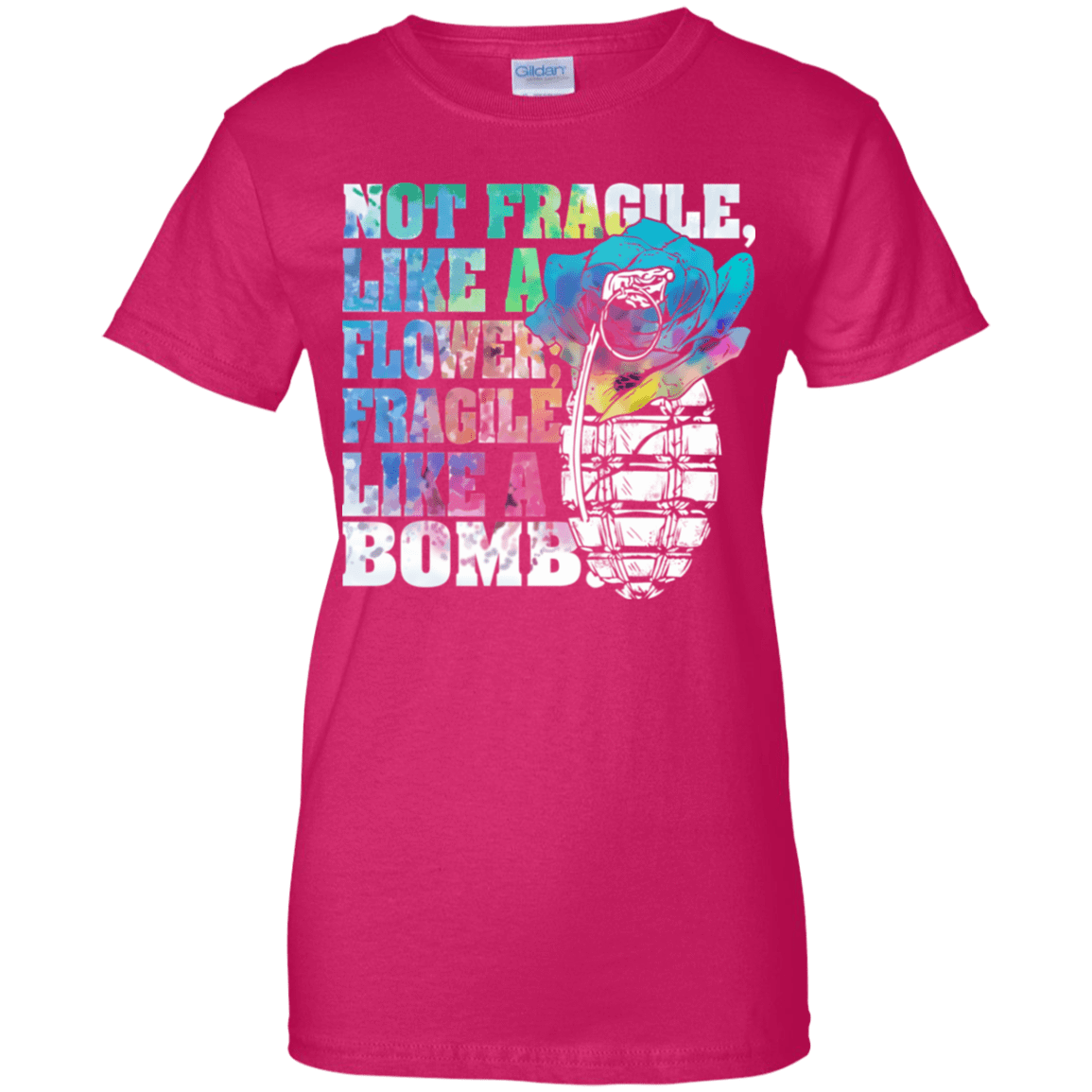 Not Fragile Like A Flower, Fragile Like A Bomb 939-9254-73170840-44779 - Tee Ript