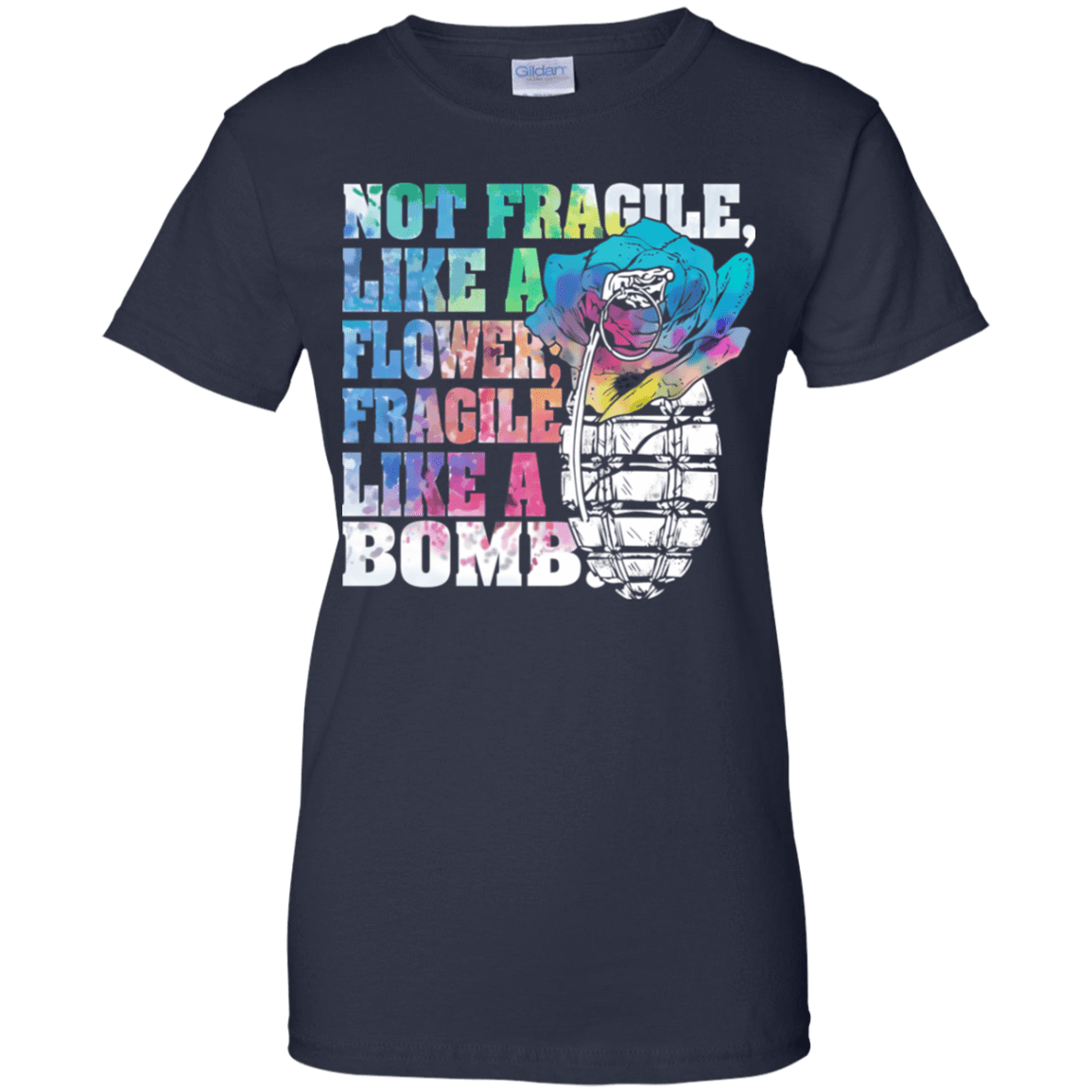Not Fragile Like A Flower, Fragile Like A Bomb 939-9259-73170840-44765 - Tee Ript