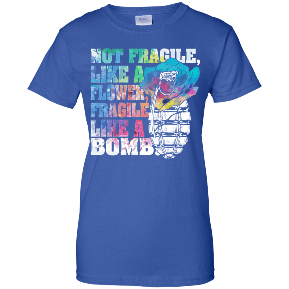 Not Fragile Like A Flower, Fragile Like A Bomb 939-9264-73170840-44807 - Tee Ript