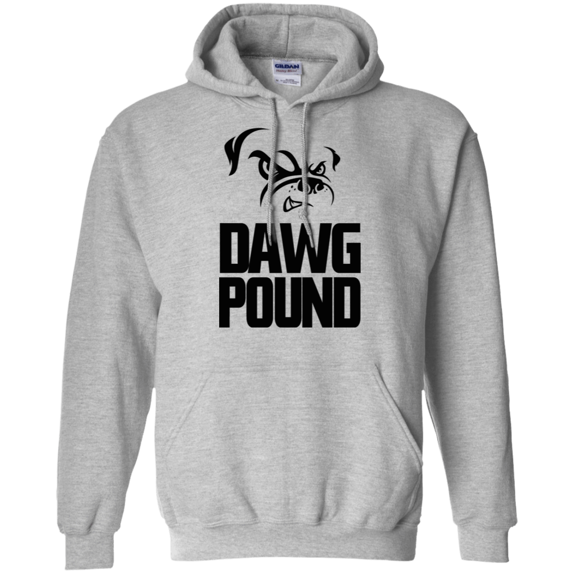Official Dawg Pound 541-4741-72089804-23111 - Tee Ript