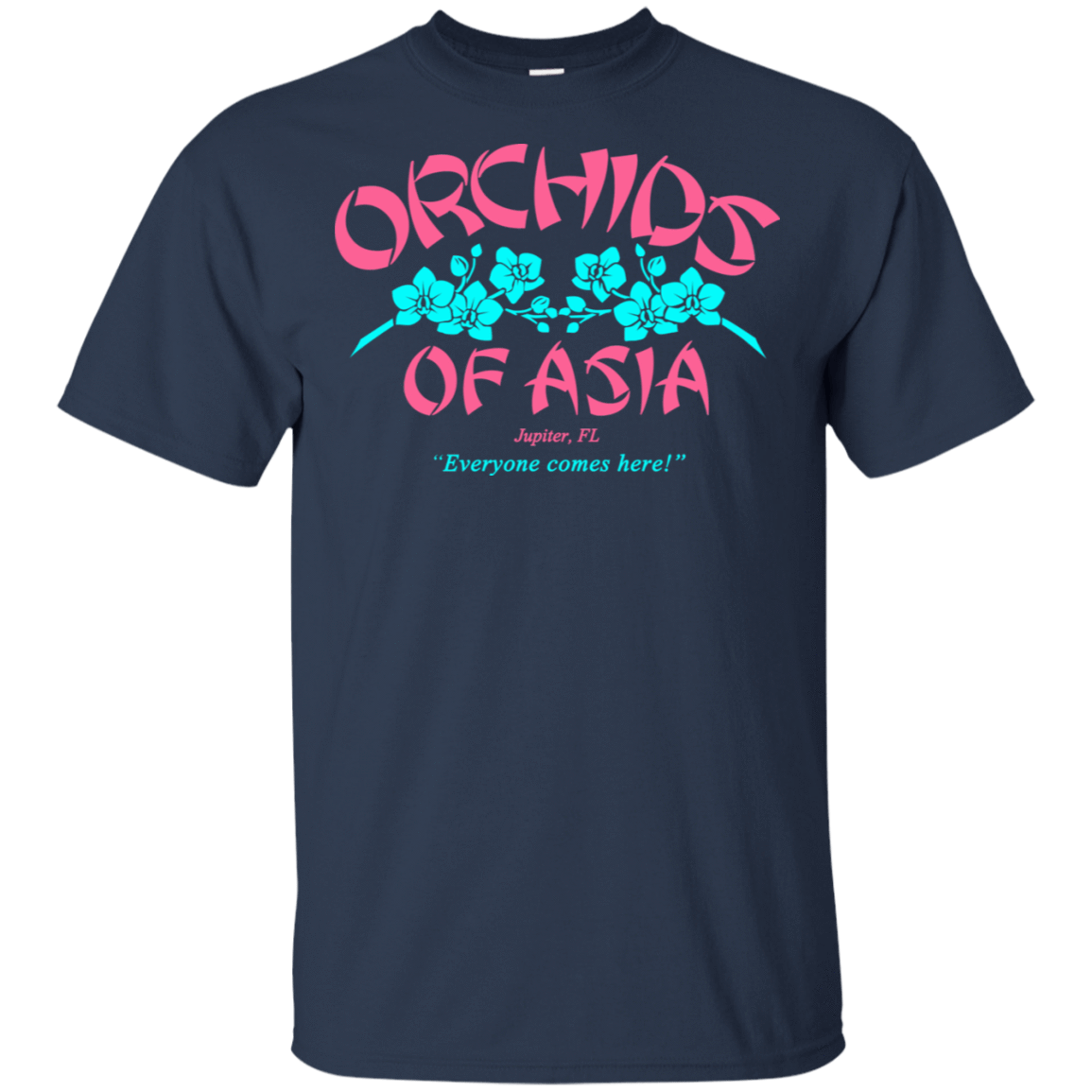 Orchids Of Asia Everyone Comes Here 22-111-72325193-250 - Tee Ript