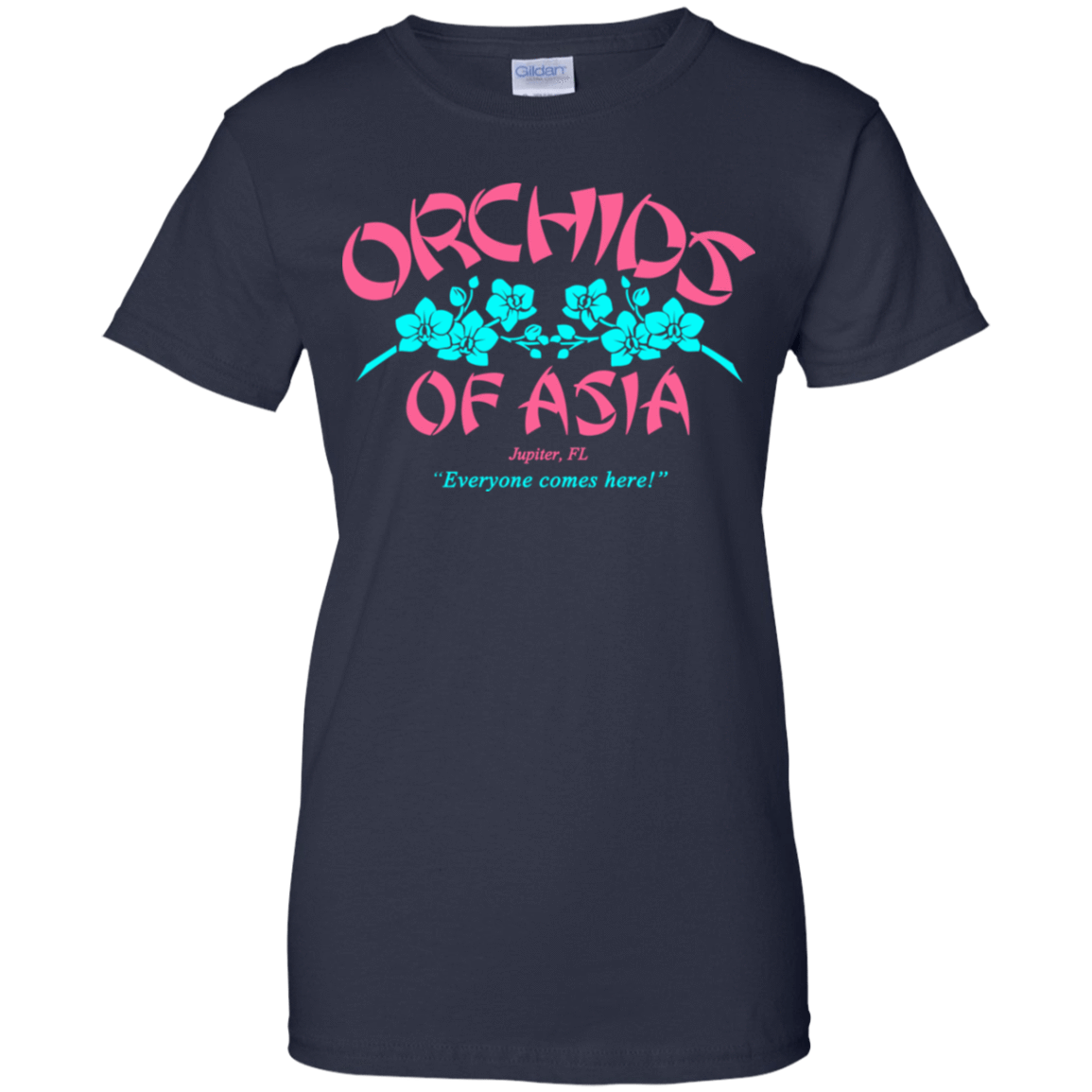 Orchids Of Asia Everyone Comes Here 939-9259-72325196-44765 - Tee Ript
