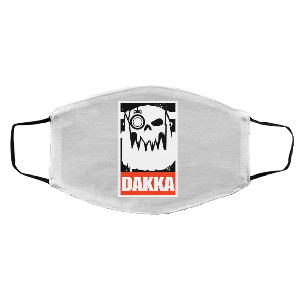 Orks Dakka Tabletop Wargaming And Miniatures Addict Face Mask 1274-13170-88768011-59058 - Tee Ript