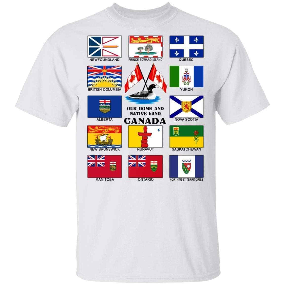 Our Home And Native Land Canada T-Shirts, Hoodies 1049-9974-86894825-48300 - Tee Ript