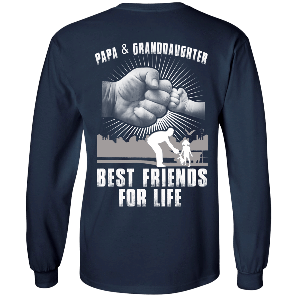 Papa And Granddaughter Best Friends For Life 30-184-71996237-331 - Tee Ript
