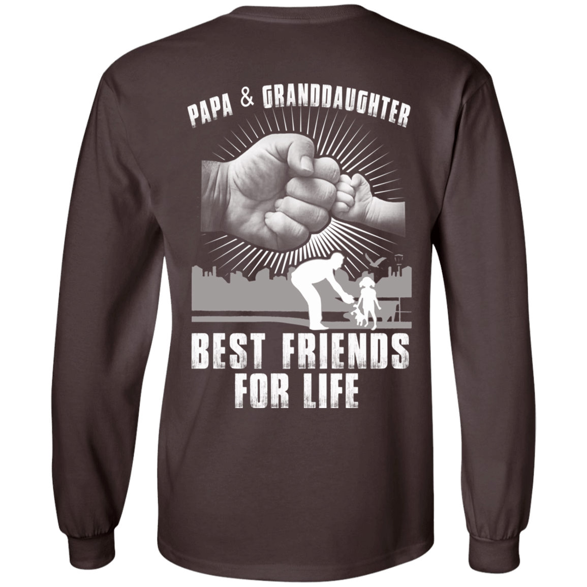Papa And Granddaughter Best Friends For Life 30-2107-71996237-10724 - Tee Ript