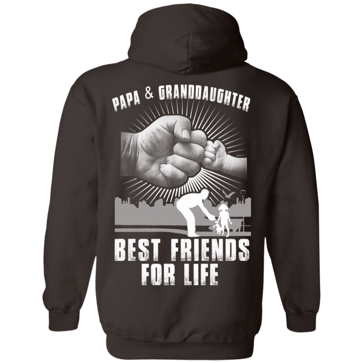 Papa And Granddaughter Best Friends For Life 541-4752-71996238-23095 - Tee Ript