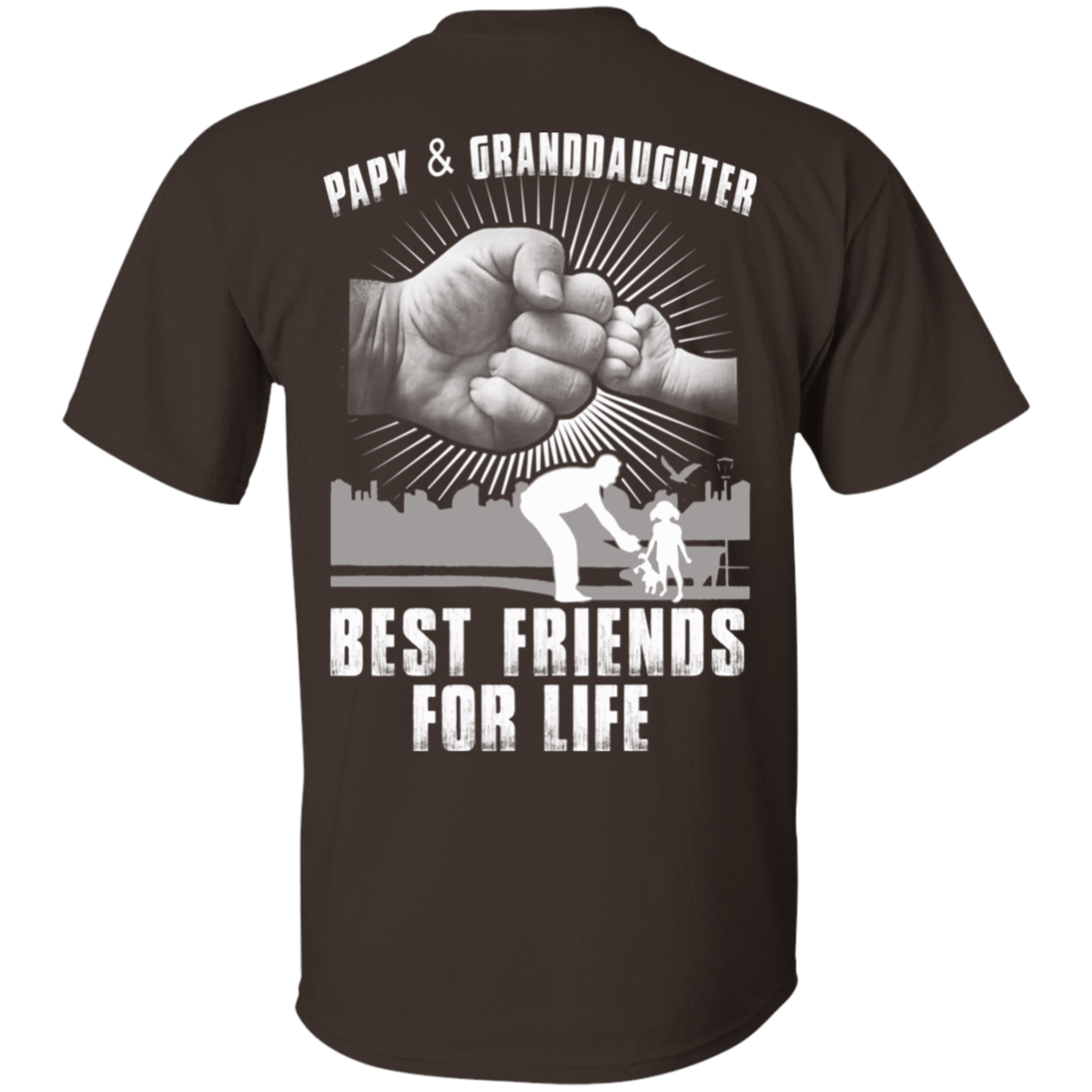Papy And Granddaughter Best Friends For Life 22-2283-71996227-12087 - Tee Ript