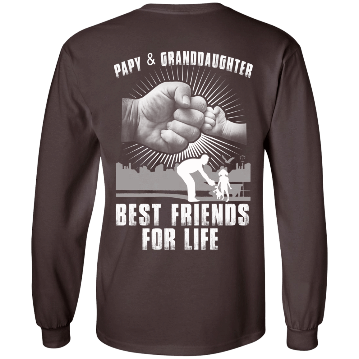Papy And Granddaughter Best Friends For Life 30-2107-71996228-10724 - Tee Ript
