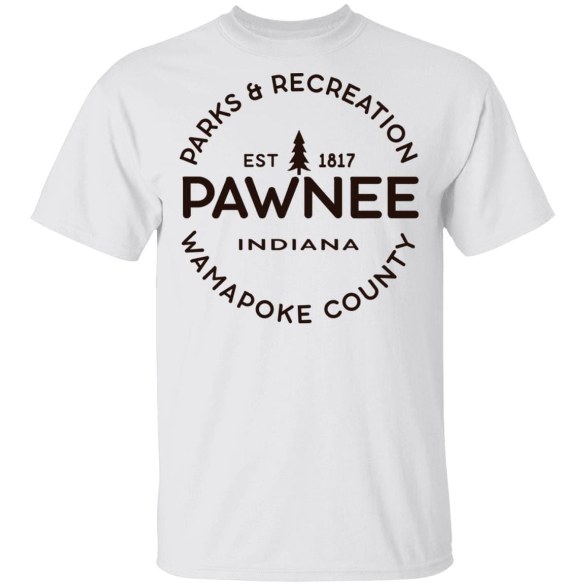 Parks & Recreation Pawnee Indiana 1817 Wamapoke Country T-Shirts, Hoodies 1049-9974-87589422-48300 - Tee Ript