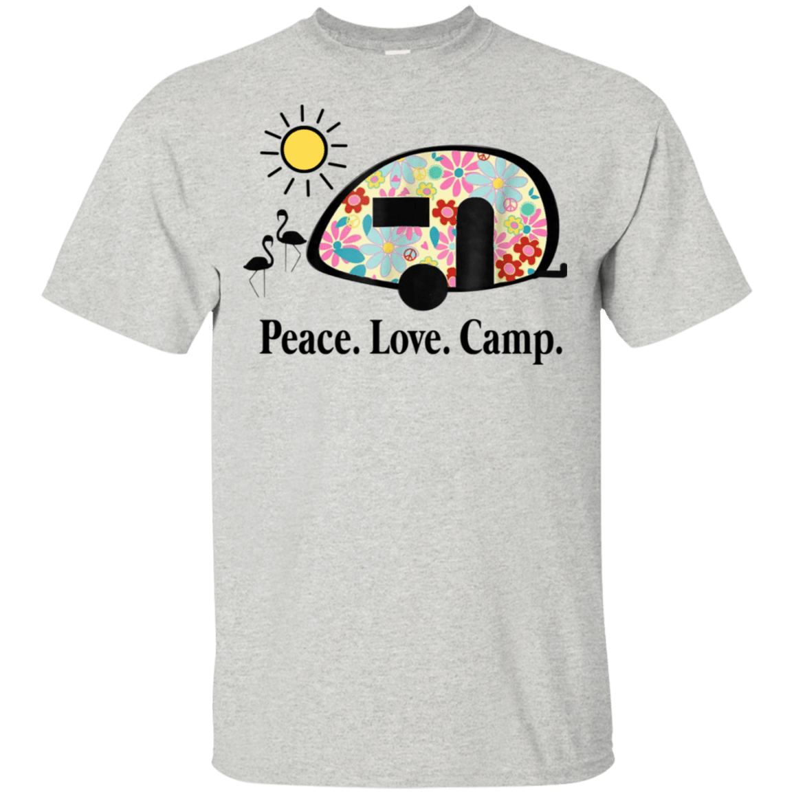 Peace. Love. Camp. Camping 22-2475-73889463-12568 - Tee Ript