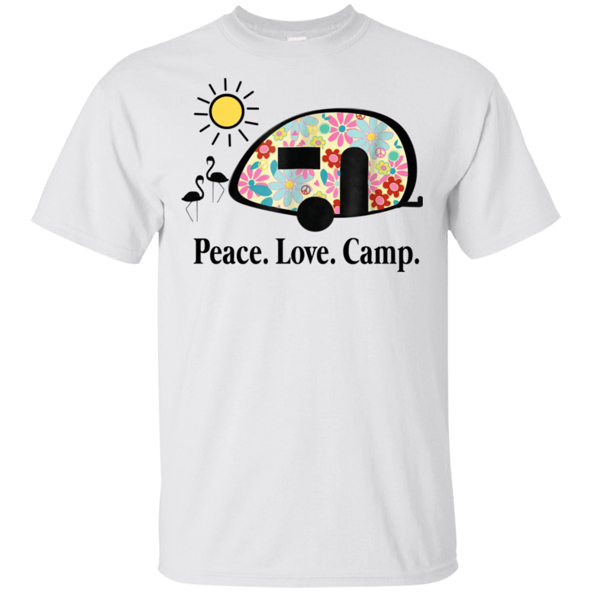 Peace. Love. Camp. Camping 22-114-73889463-253 - Tee Ript
