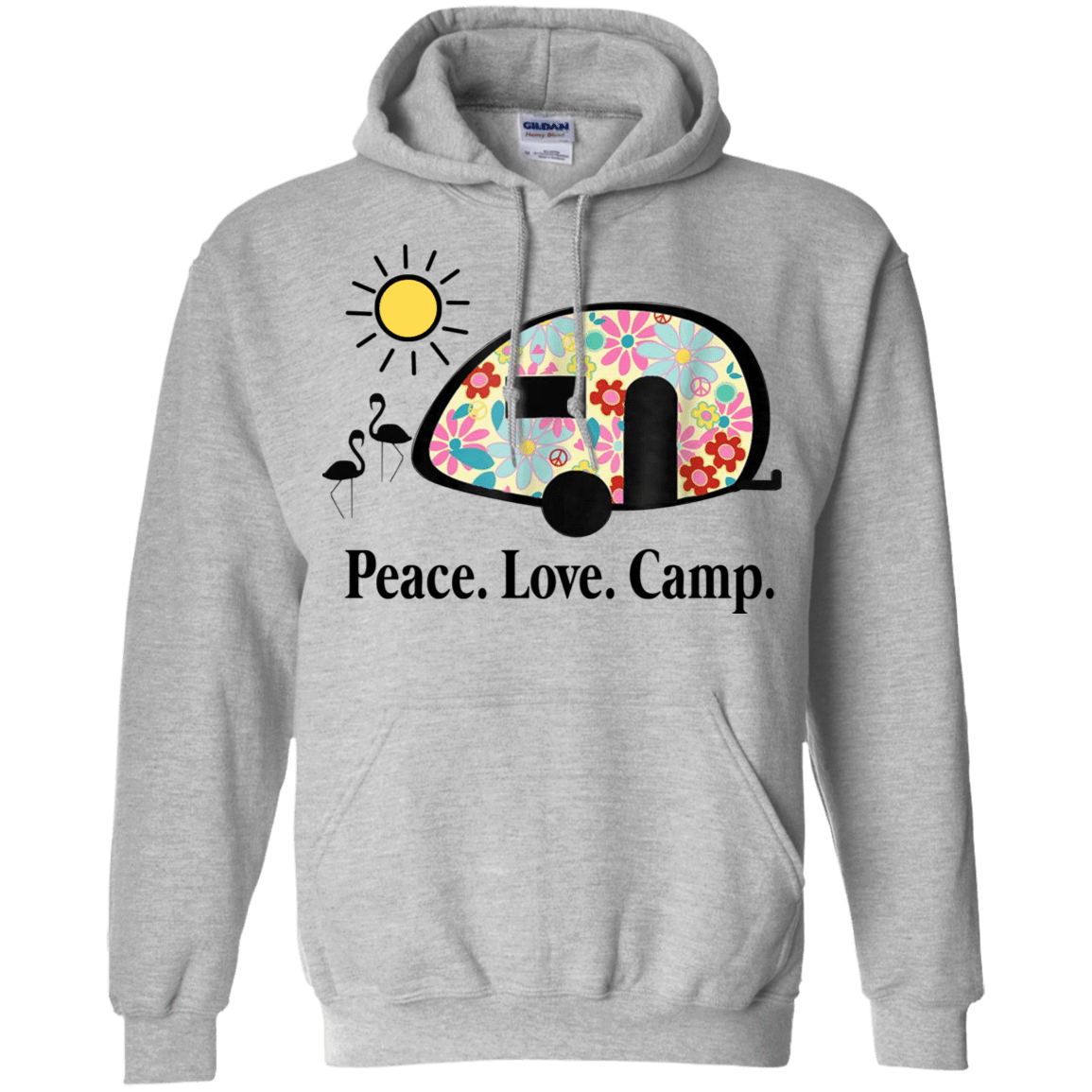 Peace. Love. Camp. Camping 541-4741-73889465-23111 - Tee Ript
