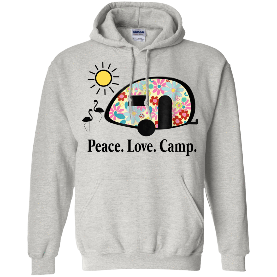 Peace. Love. Camp. Camping 541-4748-73889465-23071 - Tee Ript
