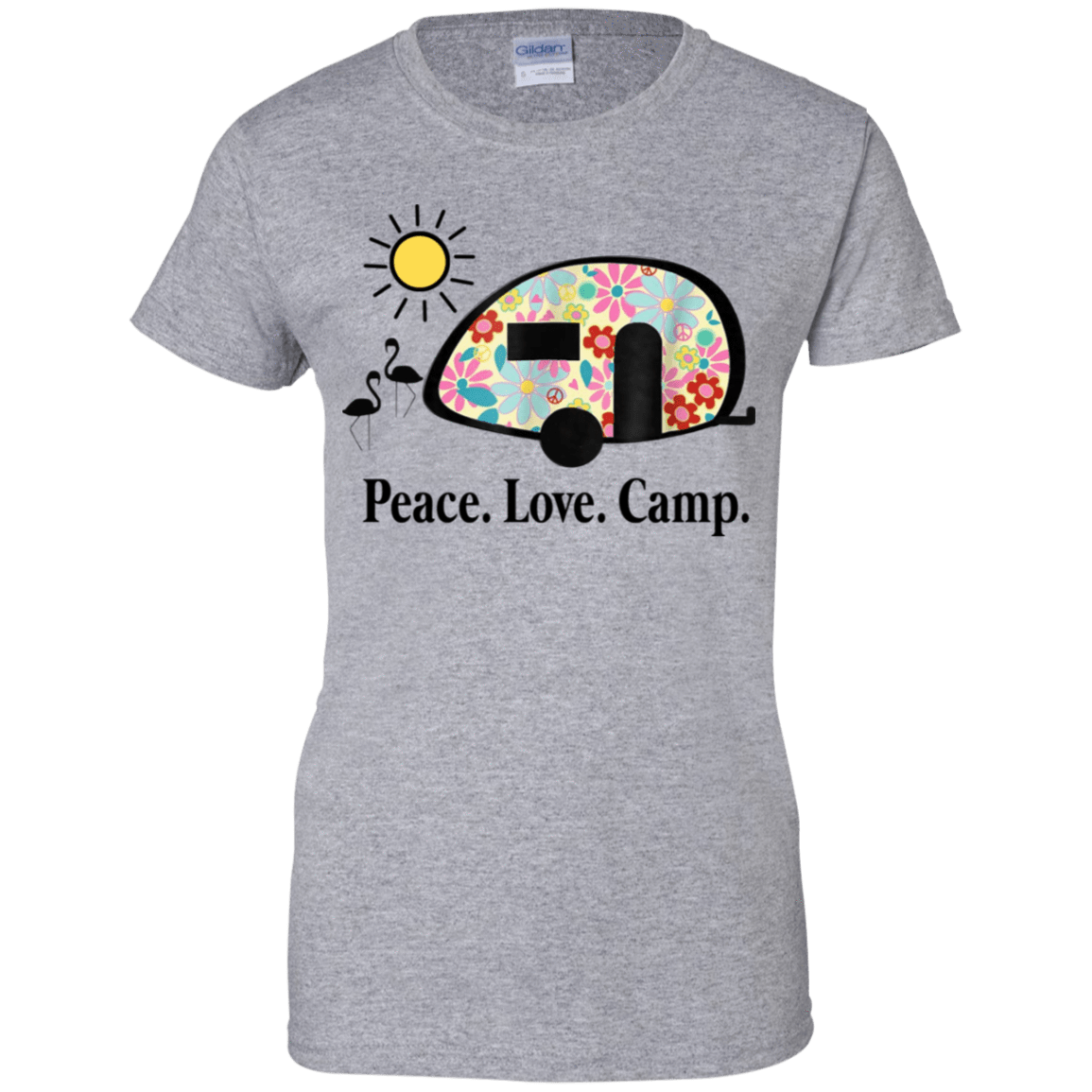 Peace. Love. Camp. Camping 939-9265-73889466-44821 - Tee Ript