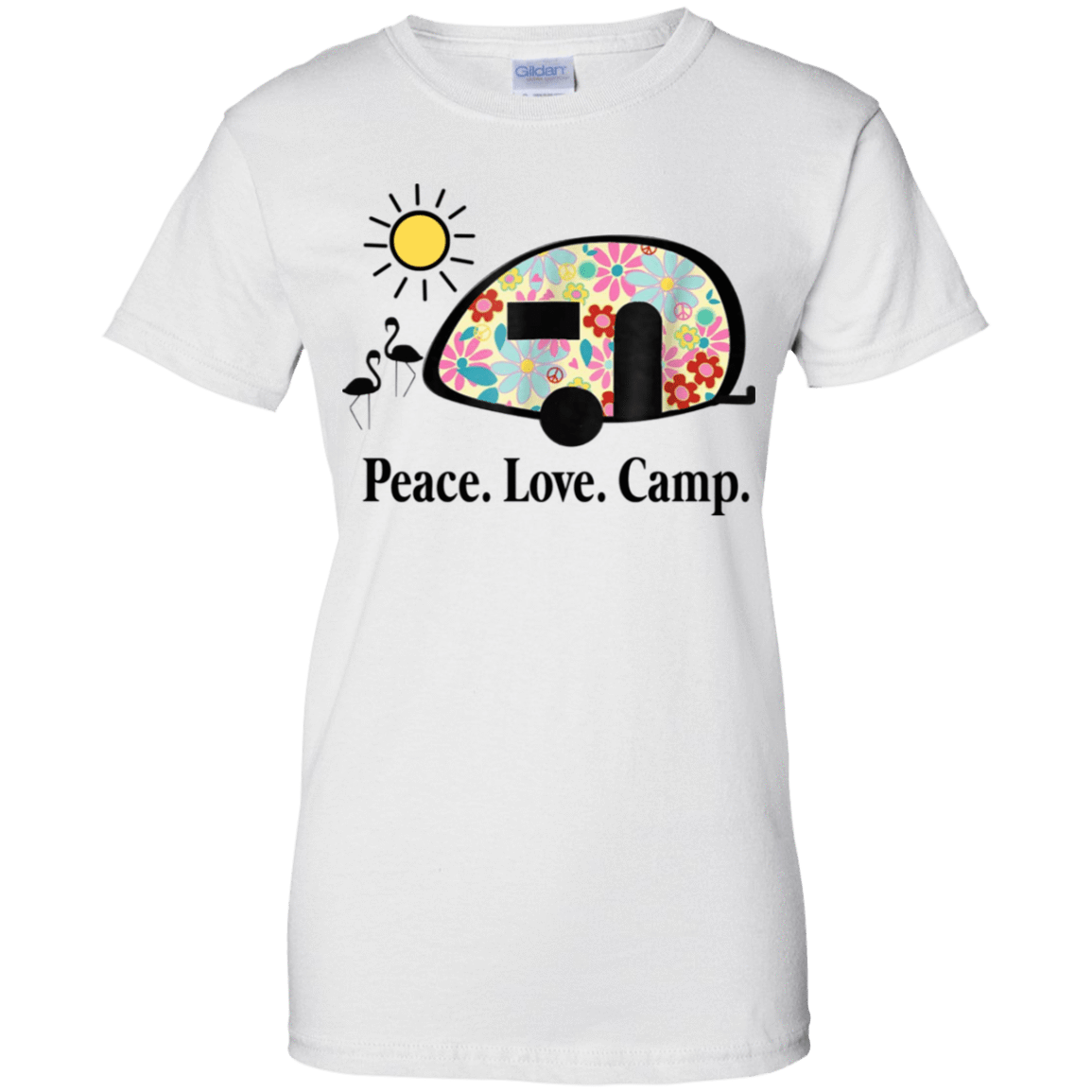 Peace. Love. Camp. Camping 939-9247-73889466-44814 - Tee Ript