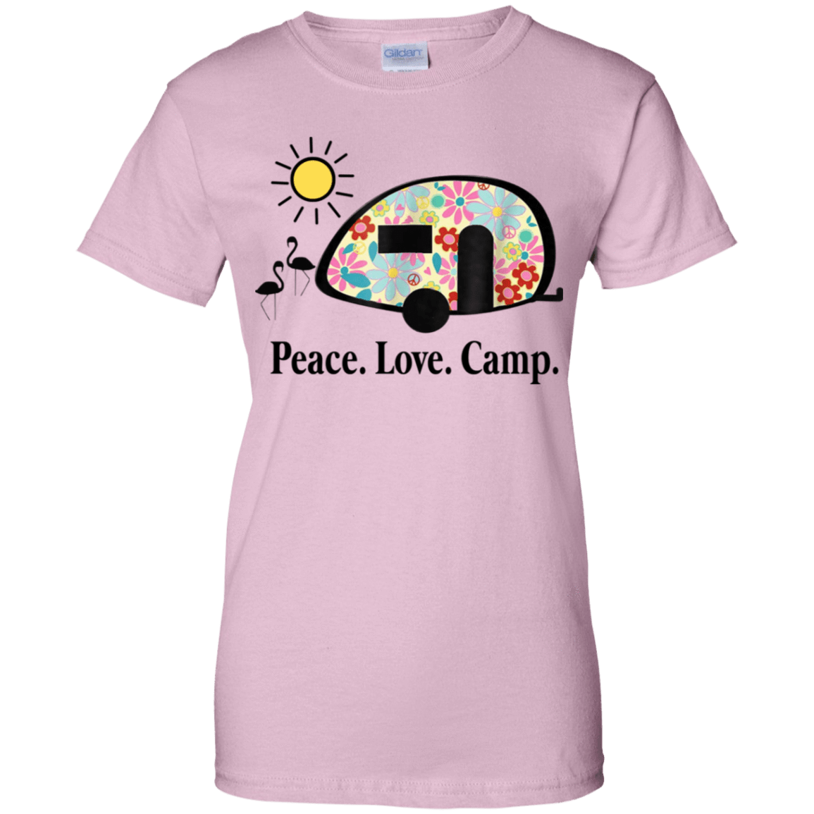 Peace. Love. Camp. Camping 939-9258-73889466-44786 - Tee Ript