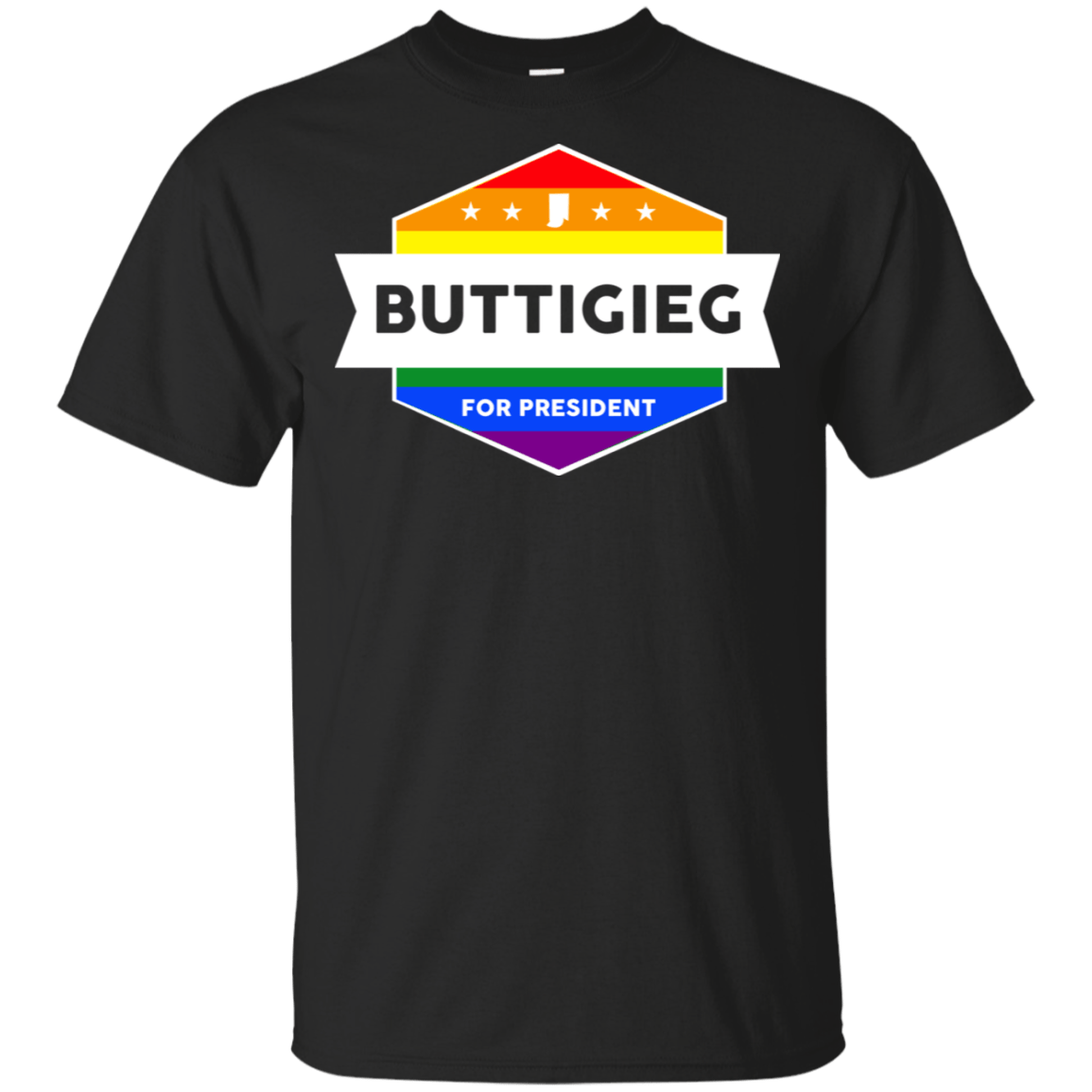 Pete Buttigieg For President 2020 LGBT Rainbow 22-113-73548369-252 - Tee Ript