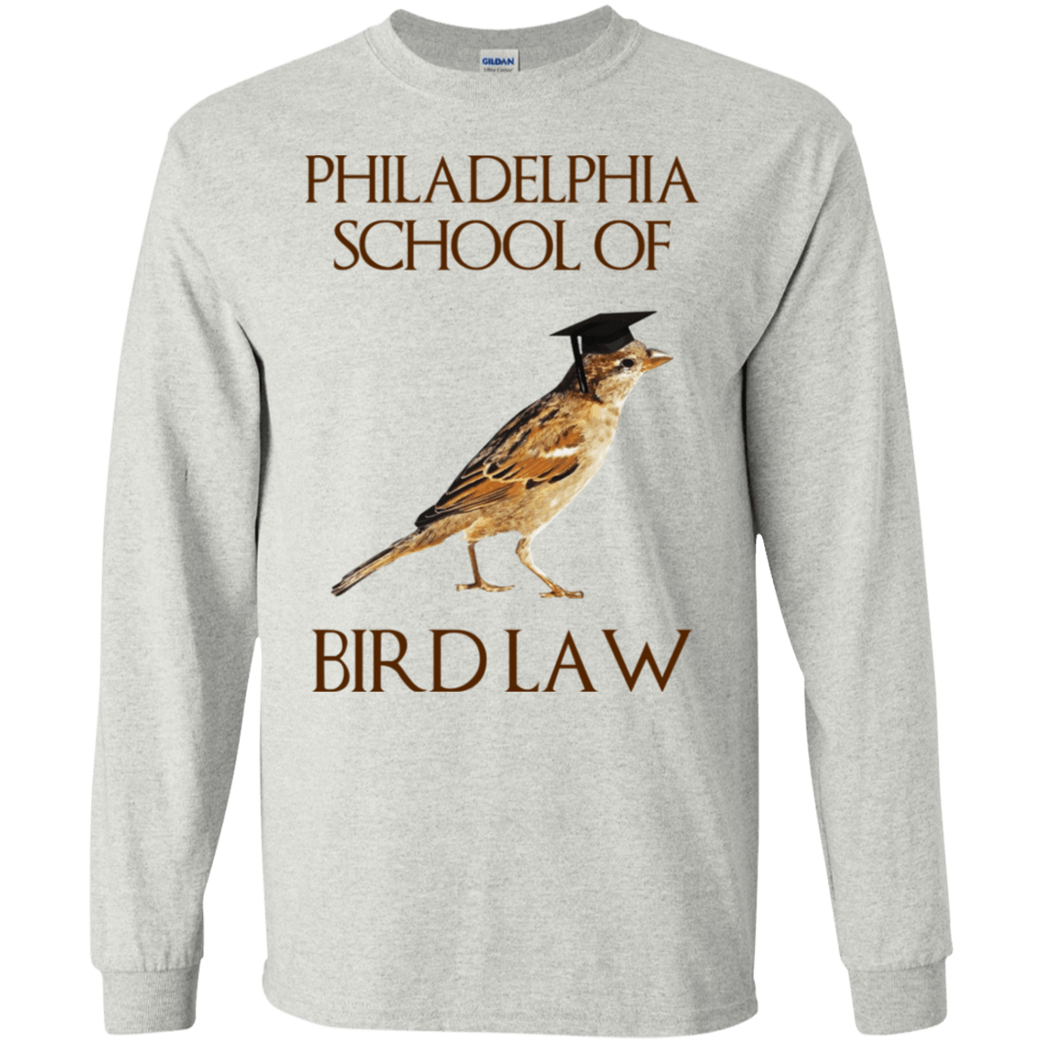 Philadelphia School of Bird Law 30-2112-73057594-10754 - Tee Ript