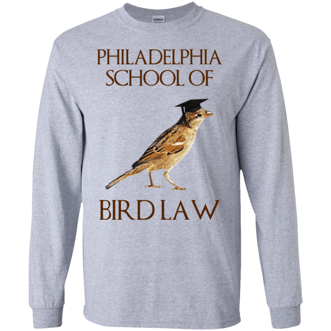 Philadelphia School of Bird Law 30-188-73057594-335 - Tee Ript