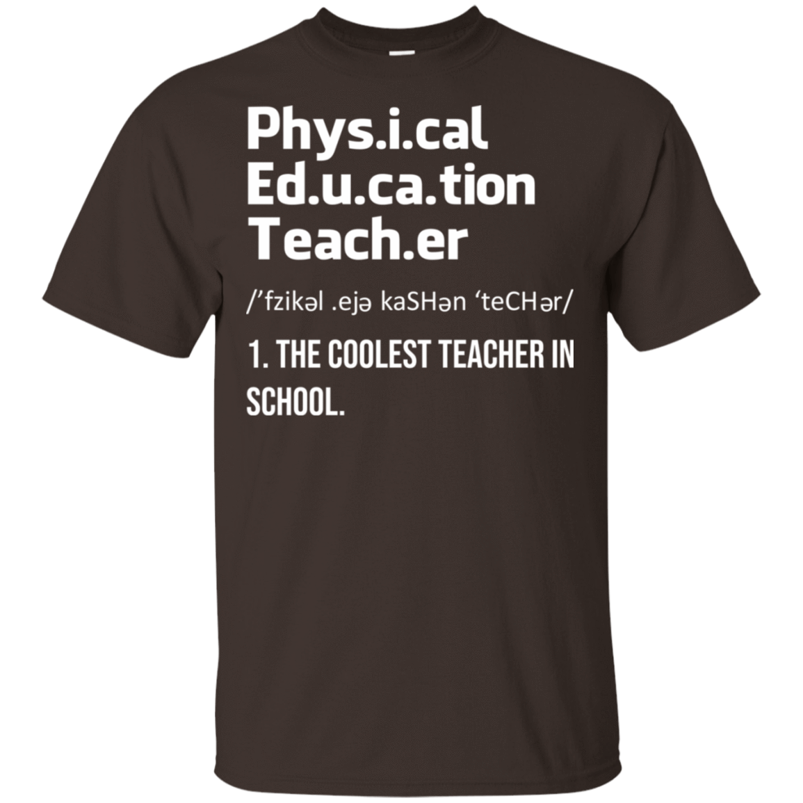 Physical Education Teacher The Coolest Teacher In School T-Shirts, Hoodie, Tank 22-2283-78811284-12087 - Tee Ript