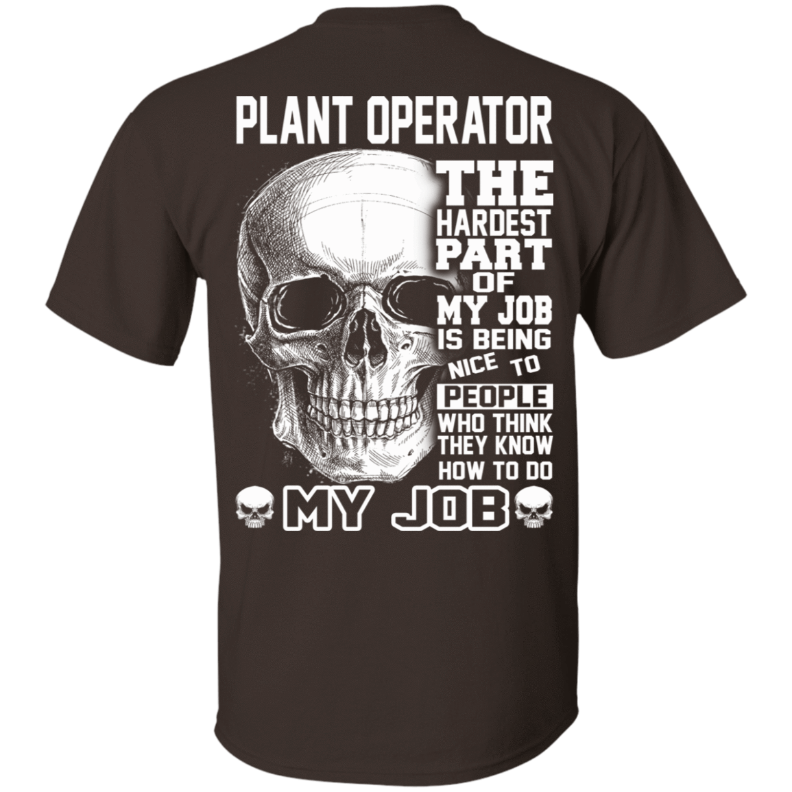 Plant Operator The Hardest Part Of My Job 22-2283-71609215-12087 - Tee Ript