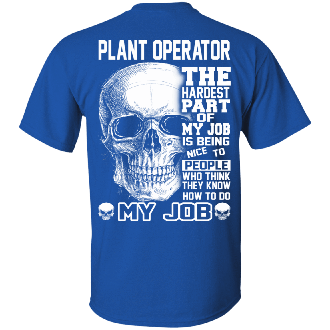 Plant Operator The Hardest Part Of My Job 22-110-71609215-249 - Tee Ript