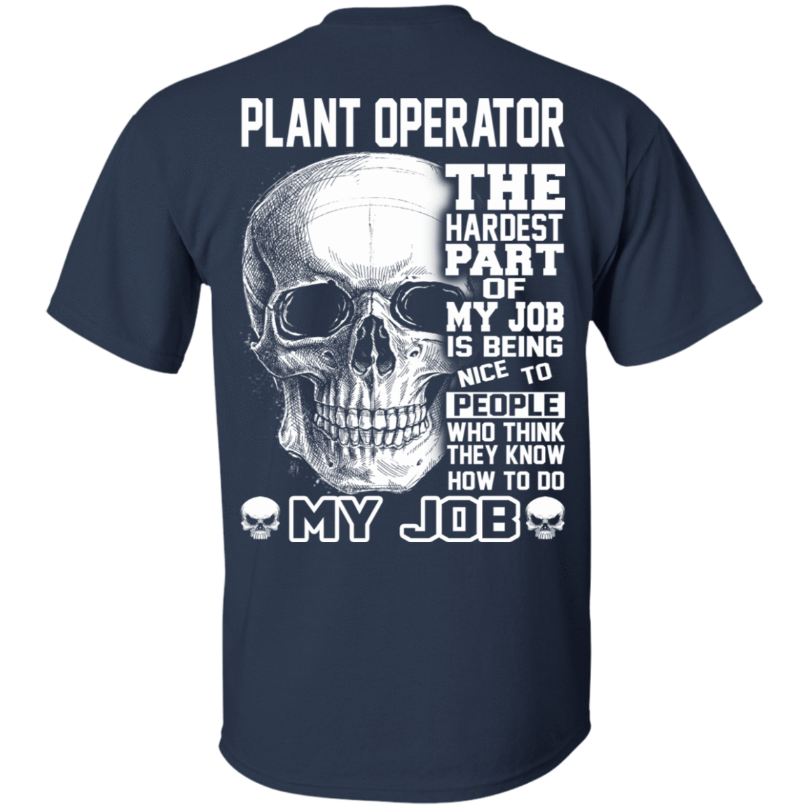 Plant Operator The Hardest Part Of My Job 22-111-71609215-250 - Tee Ript