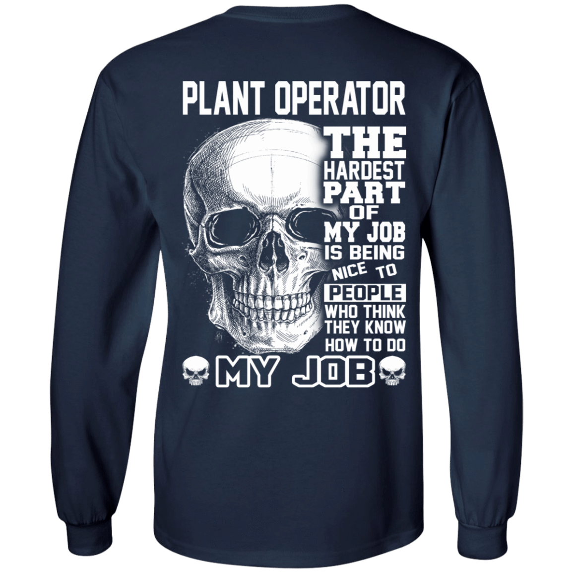Plant Operator The Hardest Part Of My Job 30-184-71609216-331 - Tee Ript
