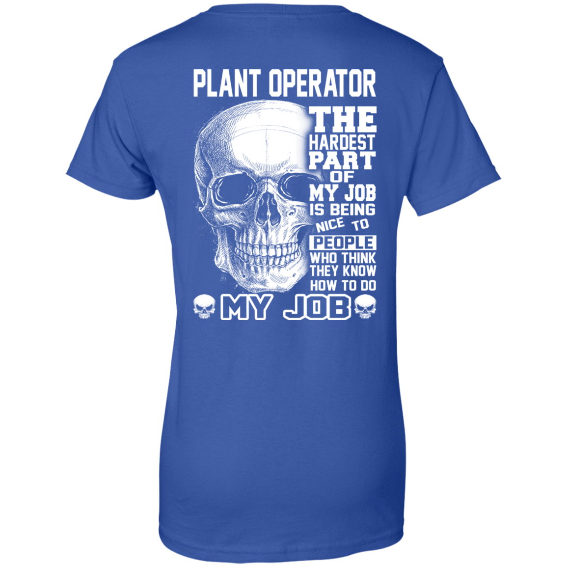 Plant Operator The Hardest Part Of My Job 939-9264-71609218-44807 - Tee Ript