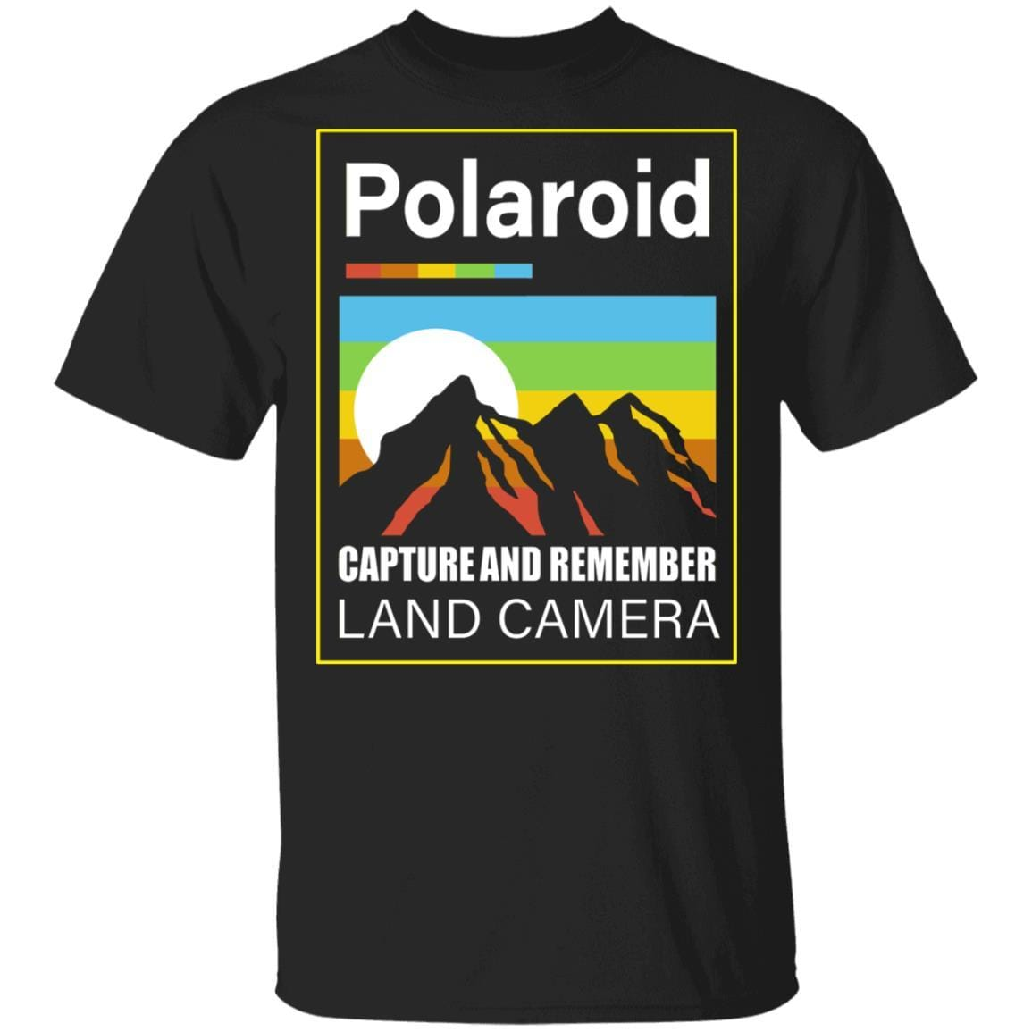 Polaroid Capture And Remember Land Camera T-Shirts, Hoodies 1049-9953-93031543-48144 - Tee Ript