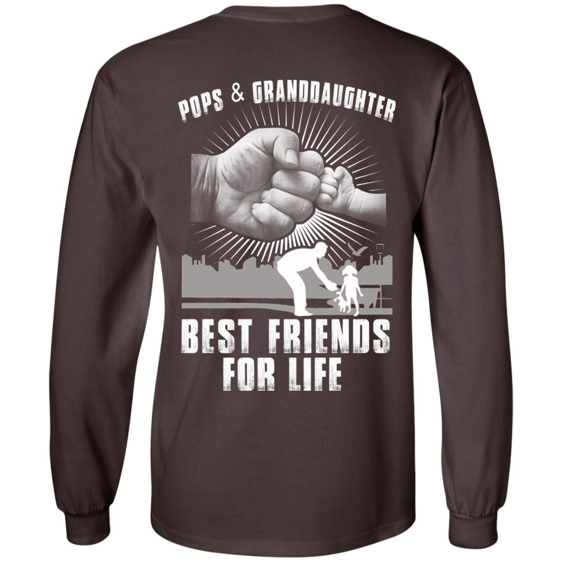 Pops And Granddaughter Best Friends For Life 30-2107-71996216-10724 - Tee Ript