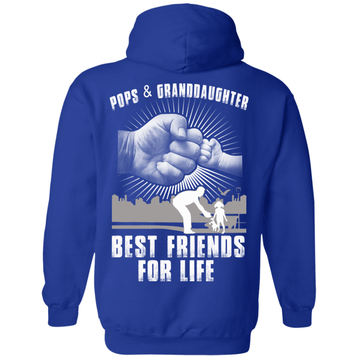 Pops And Granddaughter Best Friends For Life 541-4765-71996217-23175 - Tee Ript