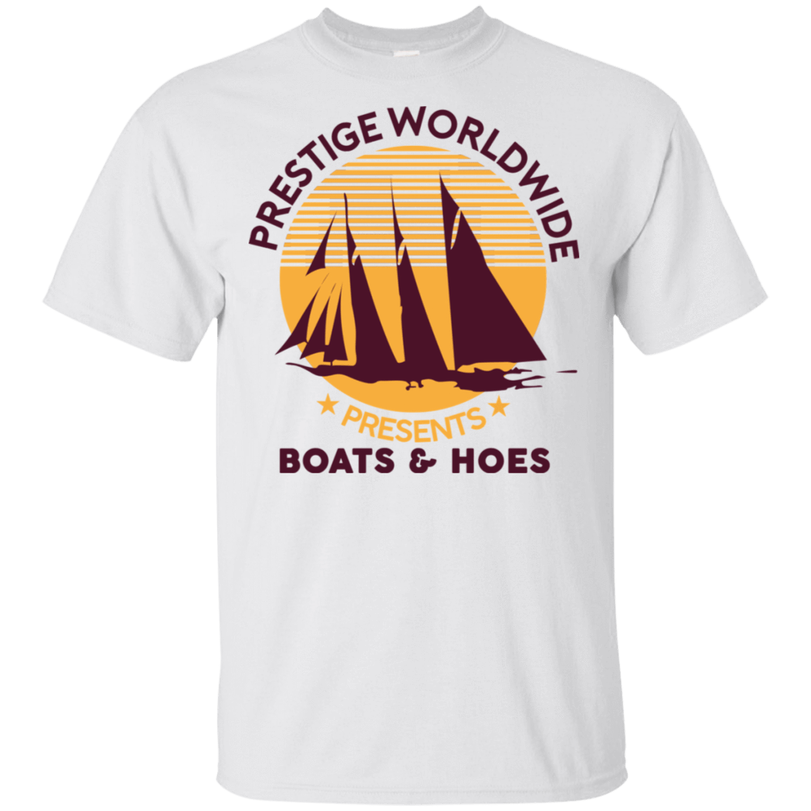 Prestige Worldwide Presents Boats & Hoes 22-114-72790288-253 - Tee Ript